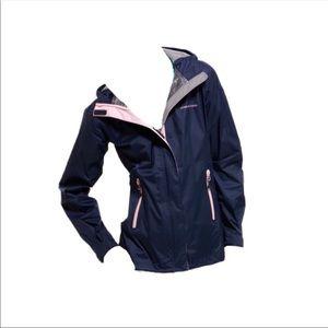Vineyard Vines Navy/Pink Raincoat